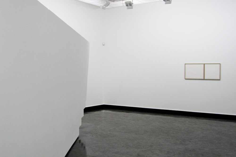4D Construction and Zöllner's Illusion & Agnes Martin's lines, Bergen Kunsthall NO5