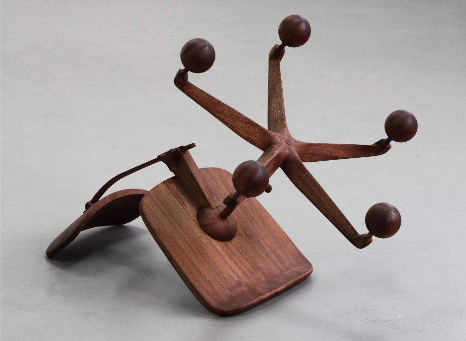 Untitled, wood, 50 x 80 x 100 cm.