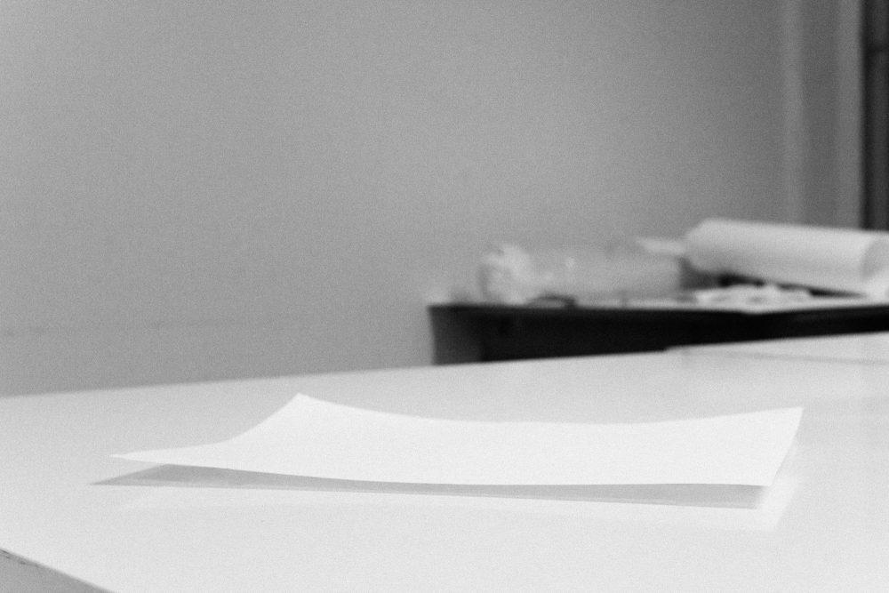 A4 Models (flat), laser print, 21x29,7cm