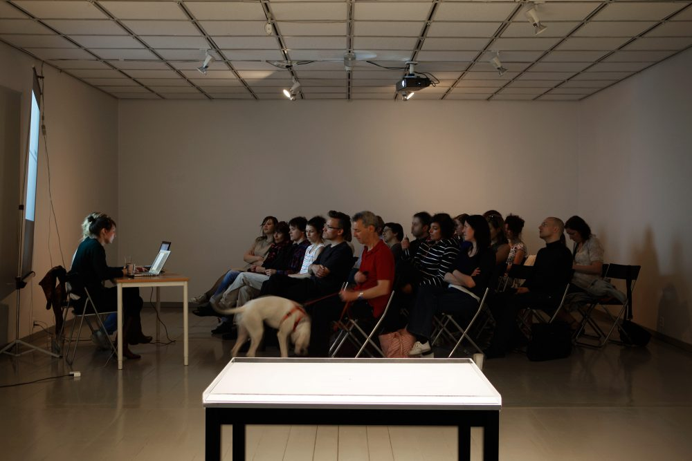 The Generic Stone, Installation view and lecture, Hordaland Art Centre.