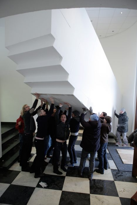 4D Construction, moving the object, Bergen Kunsthall NO5