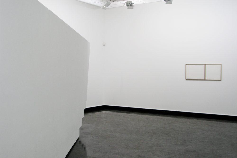 4D Construction and Zöllner's Illusion & Agnes Martin's lines, Bergen Kunsthall NO5